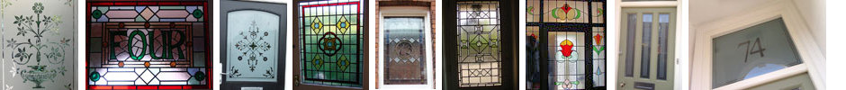 Stained Glass Doors Derbyshire